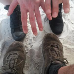 Sandstrand-Impression
