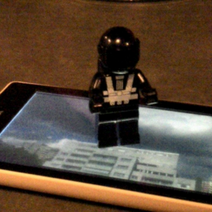Legomännchen, Handy